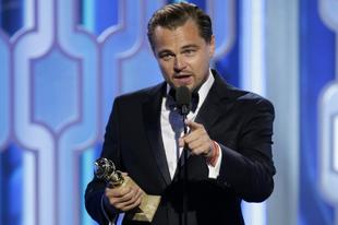 Leonardo DiCaprio az Oscar-díjátadón is környezetvédő szerepben