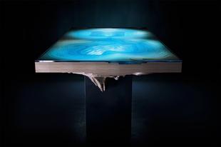 Hipnotizáló luxusasztal környezetbarát anyagokból