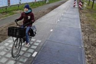 Energiát termelő kerékpárút: jobban teljesít, mint várták