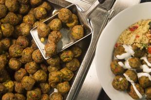 Húsgombóc vegán módra az Ikeában