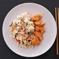 Kínai ragacsos csirke szezámmagos tésztabundában