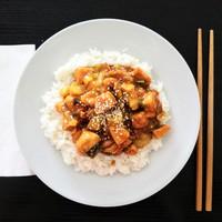 Kínai csirke pak choi-jal