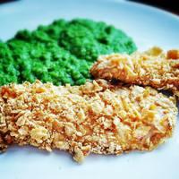 Cornes flakes bundás csirke