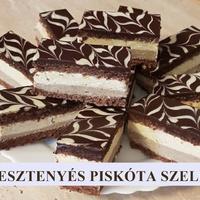 Gesztenyés Vajkrémes Piskóta Recept