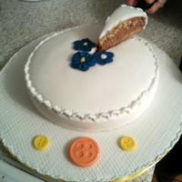 Cukormázas torta esküvőre, születésnapra