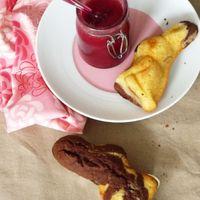 A foltos nyúl: Márványos sütemény villámdzsemmel
