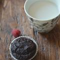 Jön-megy a divat: Csokis-málnás muffin (glutén- és laktózmentes, xillites)