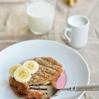 Mogyorókrémmel grillezve: Banánkenyér szendvics