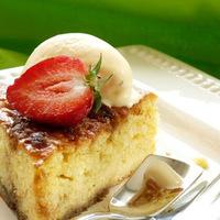 Majdnem briós: Tarte au sucré és tonka fagylalt