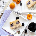 Hasznos alapok: Kamillás kajszi semifreddo szeder macaronnal