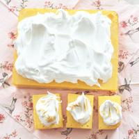 Savanyúcukorka süti: Levendulás citromszelet