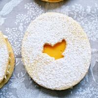Hahó húsvét! 4.: Mandulás linzer mango curddel