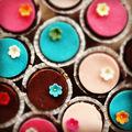 Virágba borultunk: Csokis-marcipános cupcake
