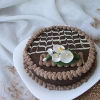 Étcsokis kókuszos torta
