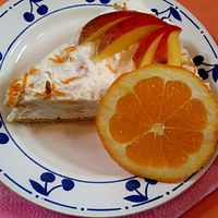 Receptverseny/Március: Mangós, narancsos túrótorta