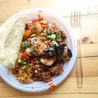 Megsétáltattuk az algát fűszerestül: ázsiai taco kóstoló
