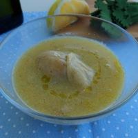 Jó pár: csicseriborsós spárgakrém citromfüves csirkével