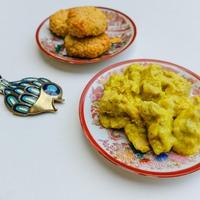 Izabellának szeretettel: halas babacurry kölespogácsával