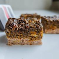 Ronda, de finom: sütőtökös mákos aprókocka
