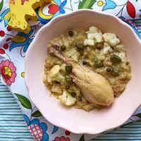 Nem elírás: kaprikás csirke családi verzióban rizslisztes galuskával