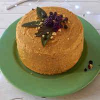 Szedres sütőtökkrémes diótorta - karácsony sok vitaminnal