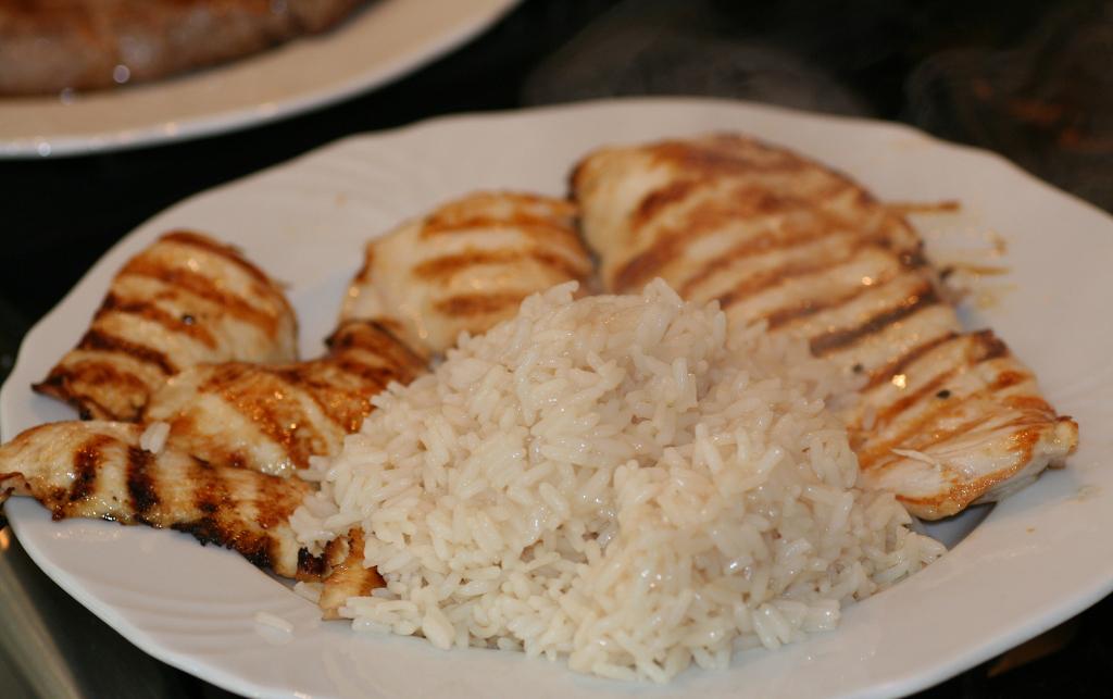 csirke és hal étrend