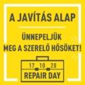 Ünnepeljük meg a javítás nemzetközi napját!