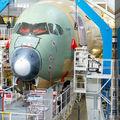 Készül a Singapore Airlines első Airbus A350-ese