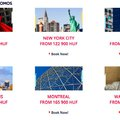 Air France: Chicago, New York, Boston 125 ezer alatt!