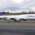 Új zászlóshajó a Lufthansánál: május elsején érkezik a 747-8i, első célállomás Washington