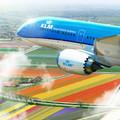 Csendes kék és gyönyörű: képek a KLM Dreamliner fedélzetéről!