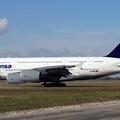 Nem engedték felszállni a Lufthansa A380-ast!