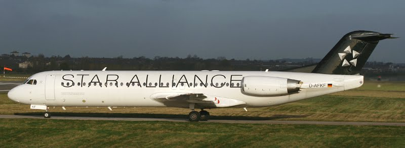 Fokker-100, üzemeltető a Contact Air