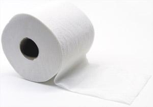 Fehér WC papír