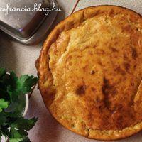 Sonkás quiche tészta nélkül