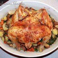 Szemérmetlen sült csirke