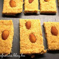 Petit fours: kókuszos mézeskalács