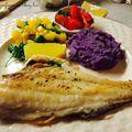 Sült hal zöldségkavalkáddal