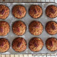 Majdnem vegán pekán muffin cukor nélkül