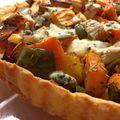 Ropogós zöldséges pite