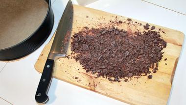 Csokitorta cukkiniból - lépésről lépésre