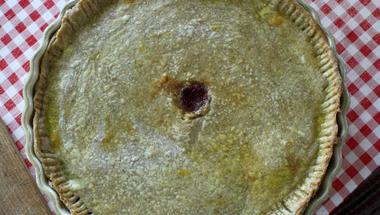 Francia pite - csak eper és semmi hagyományos cukor