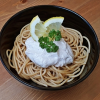 Sajtkrémes-tonhalas tészta