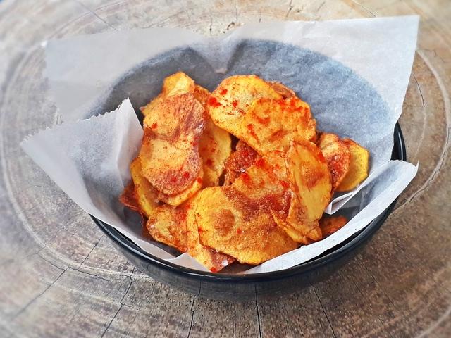 Nagyi féle házi chips