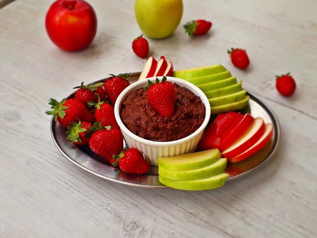 Egészséges csoki humusz