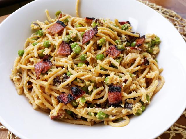 Borsós Carbonara spagetti