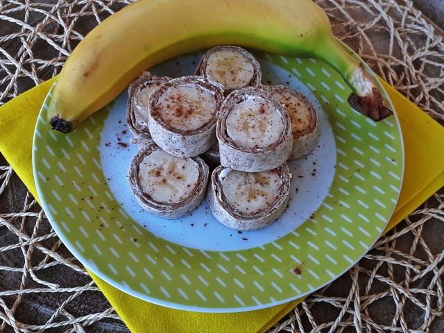 3 perces reggeli: banános-fahéjas tortilla
