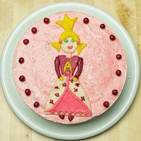 Királylányos epres torta