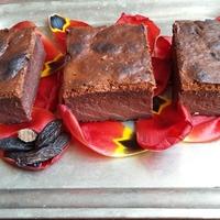 Csokoládés sült madártej