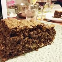 Diós, csokoládés torta pészáhra